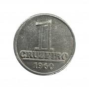 Moeda Brasil 1 Cruzeiro 1960 FC