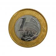 Moeda Brasil 1 Real 2014 FC