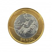 Moeda Brasil 1 Real Judô Olímpico FC