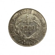 Moeda Brasil 2000 reis 1926 MBC