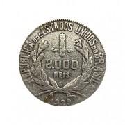 Moeda Brasil 2000 reis 1929 MBC