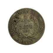 Moeda Brasil 2000 reis 1930 MBC