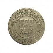 Moeda Brasil 200 Réis 1930 MBC