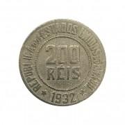 Moeda Brasil 200 Réis 1932 MBC