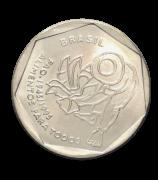 Moeda Brasil 25 Centavos Fao 1995 fc