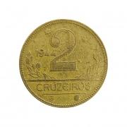 Moeda Brasil 2 Cruzeiros 1944 MBC