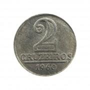 Moeda Brasil 2 Cruzeiros 1960 FC