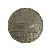 Moeda Brasil 400 Réis 1938 Oswaldo Cruz MBC