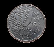 Moeda Brasil 50 Centavos 2002 MBC