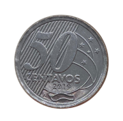 Moeda Brasil 50 Centavos 2019 A SOB