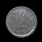 Moeda Brasil 50 Centavos 2019 SOB