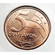 Moeda Brasil 5 Centavos 2013 FC