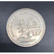 Moeda de Portugal 200 Escudos - Henrique o navegador 1594-1994