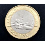 Moeda de Portugal Comemorativa Jogos Olímpicos  Bimetálica  1996