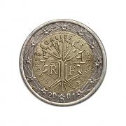 Moeda França 2 Euros