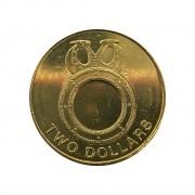 Moeda Ilhas Salomão 2 dólares 2012 SOB