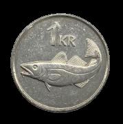 Moeda Islândia 1 coroa, 2006 Sob