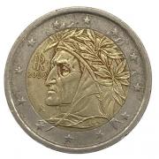 Moeda Itália 2 Euros  Maria Carmela Calaneri