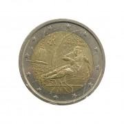 Moeda Itália Comemorativa Jogos Olímpicos 2 Euros 2006 MBC