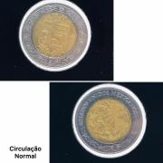 Moeda México 5 Pesos Novos 2016 SOB