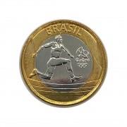 Moeda Olímpica Atletismo -2014- FC