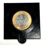 Moeda Olímpica no Coin Holder  Futebol