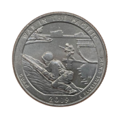 Moeda Quarter Dollar War in the Pacific 2019 P FC