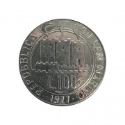 Moeda San Marino Comemorativa 100 Liras 1977 SOB