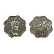 Moeda Suazilândia 5 Cents 1999 Sob