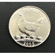 MOEDA TONGA 2005 FAO  FAUNA