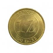 Moeda Zaire 1 Zaire 1987 FC