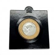 Reverso Horizontal 1 Real 2005 Em coin Holder Leuchtturm