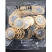 Sachê 1 Real  2020 com 50 moedas