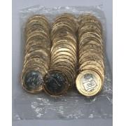 Sache de Bandeira Olimpica - 50 moedas