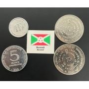 Set de moedas Burundi