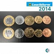 Set de moedas do Real  2014 (FC)