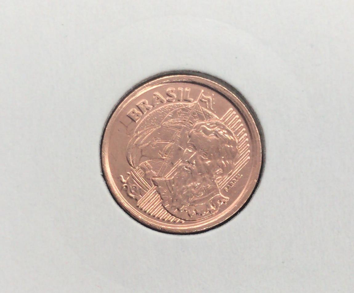 Moeda 1 Centavo 1999 MBC - Higienizado