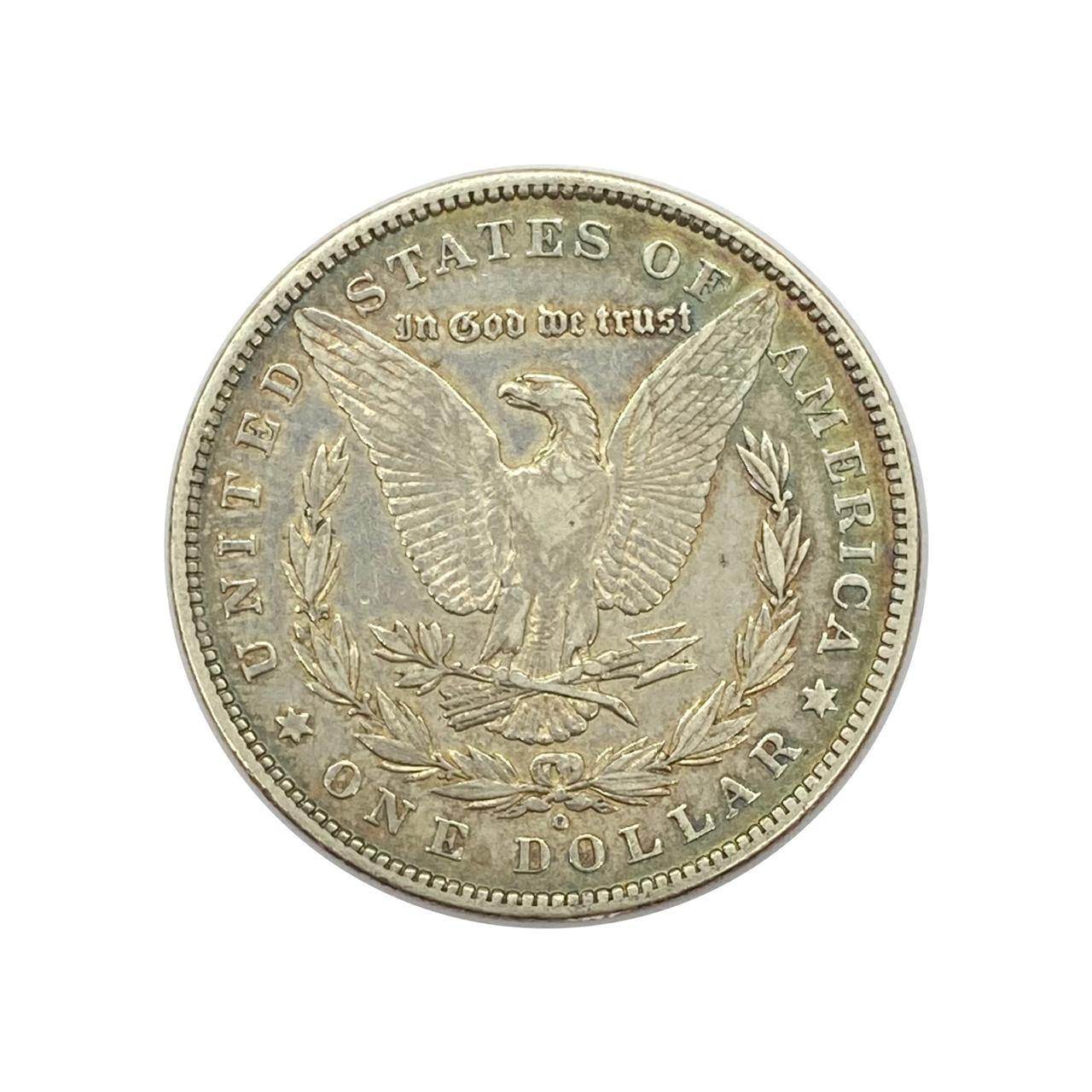 1 Dólar Morgan Dollar-1880