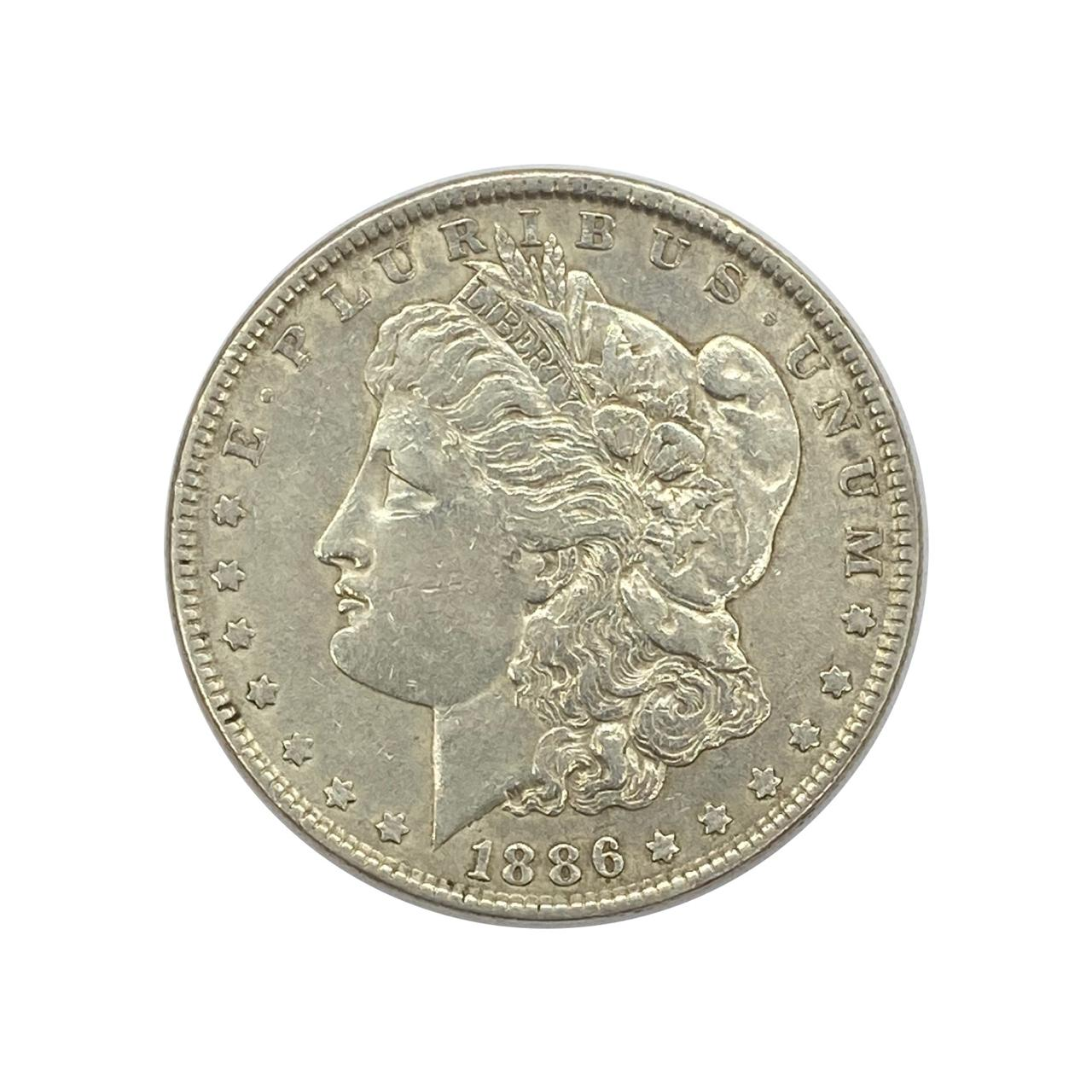 1 Dólar Morgan Dollar-1886