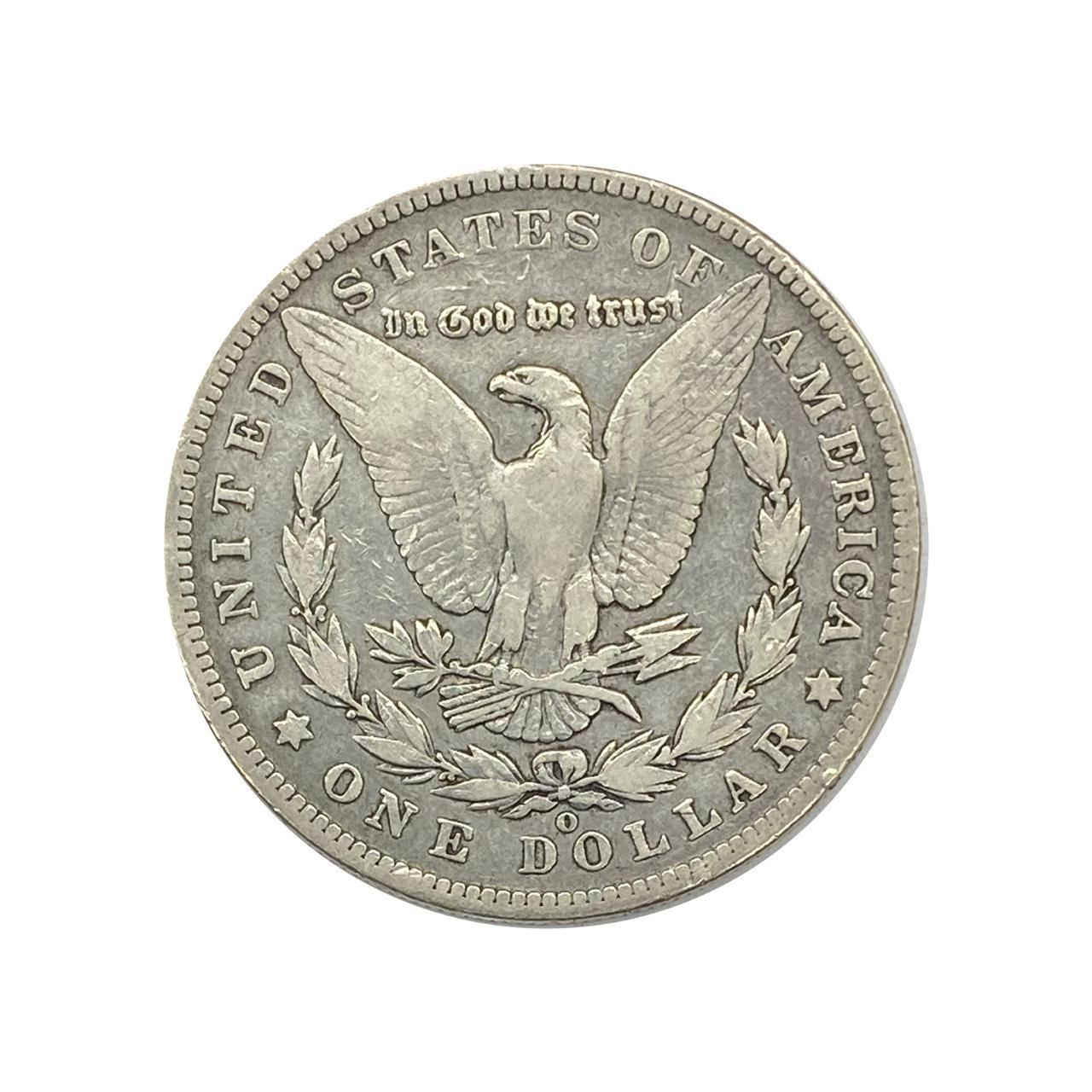 1 Dollar 1901 O MBC Morgan Dollar EUA América