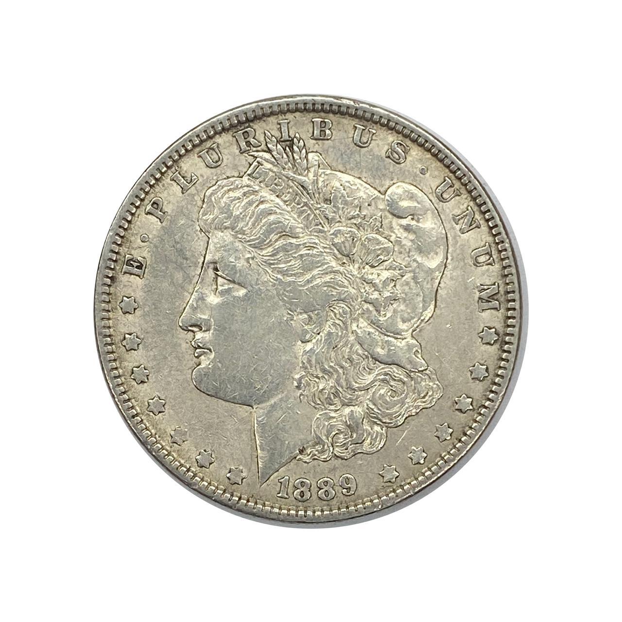 1 Dollar 1889 O SOB - Morgan Dollar EUA América