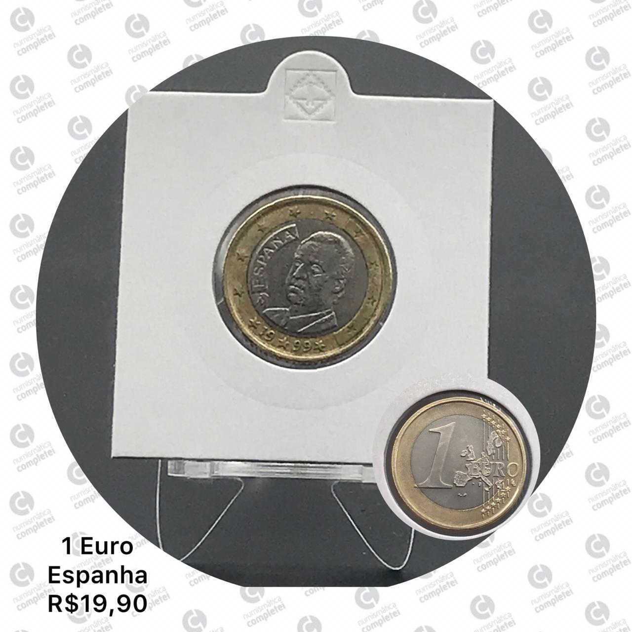 1 Euros Espanha mbc
