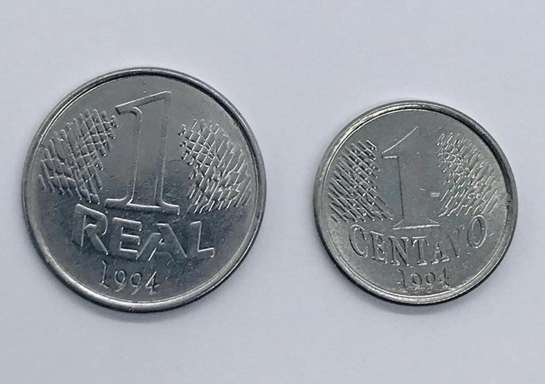1 Real + 1 Centavo 1994 MBC