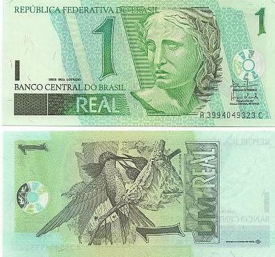 1 Real Antônio Paloccio Filho/ Henrique Meirelles FE (C 254)