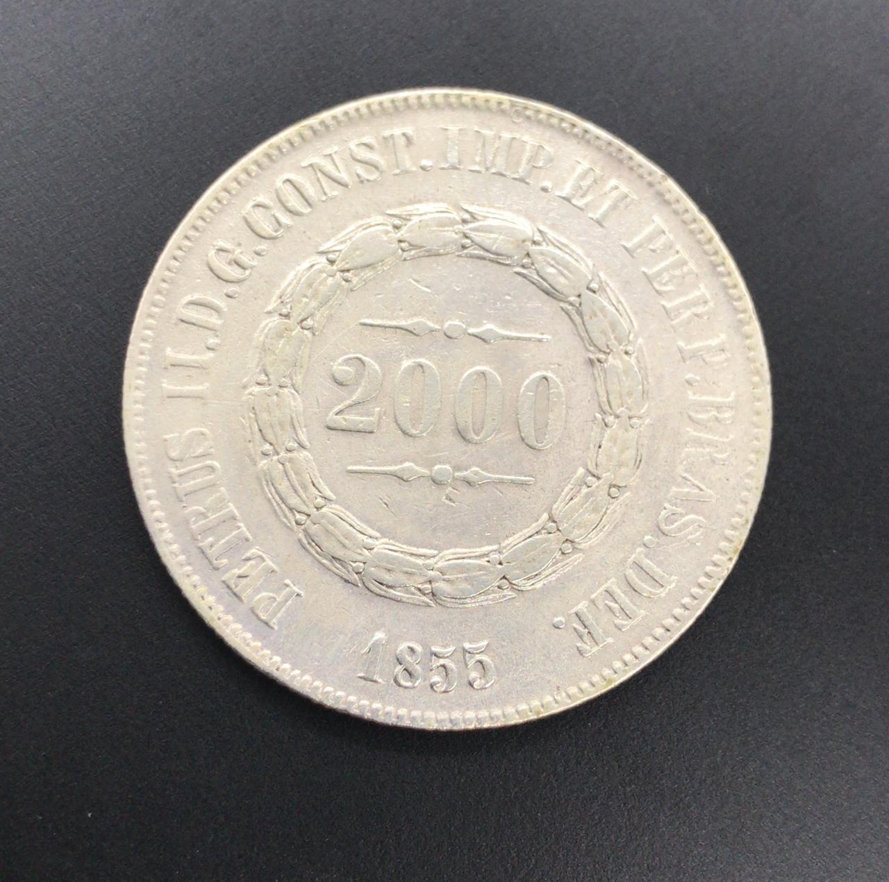 2000 reis 1855 prata