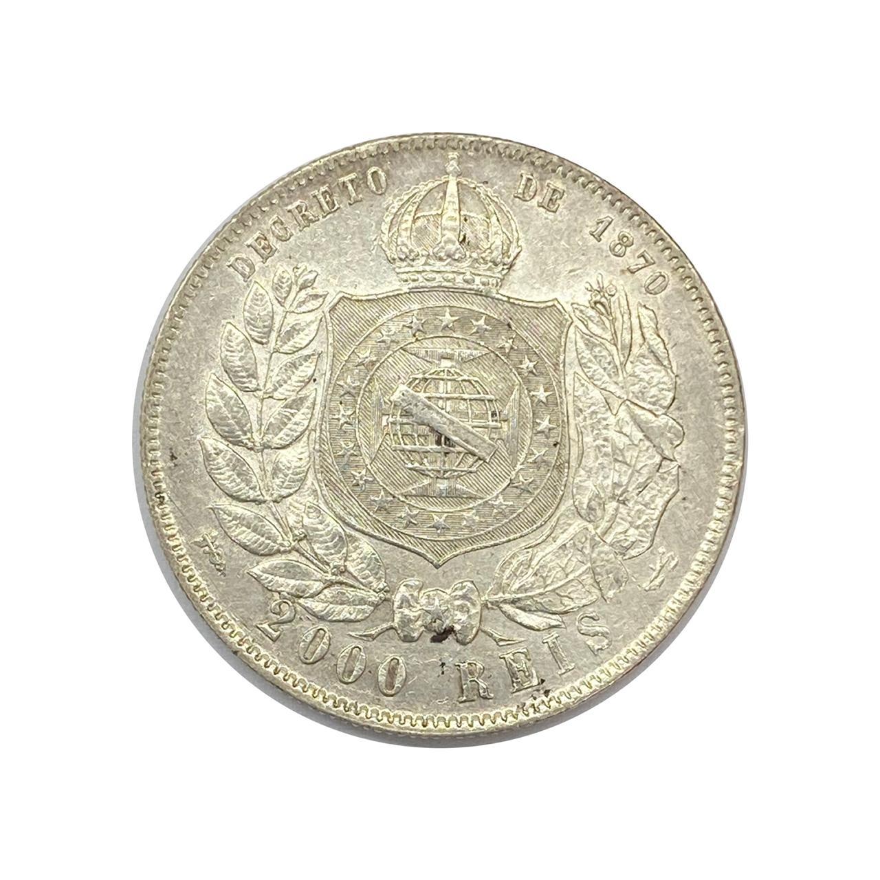 2000 Réis 1888 - SOB