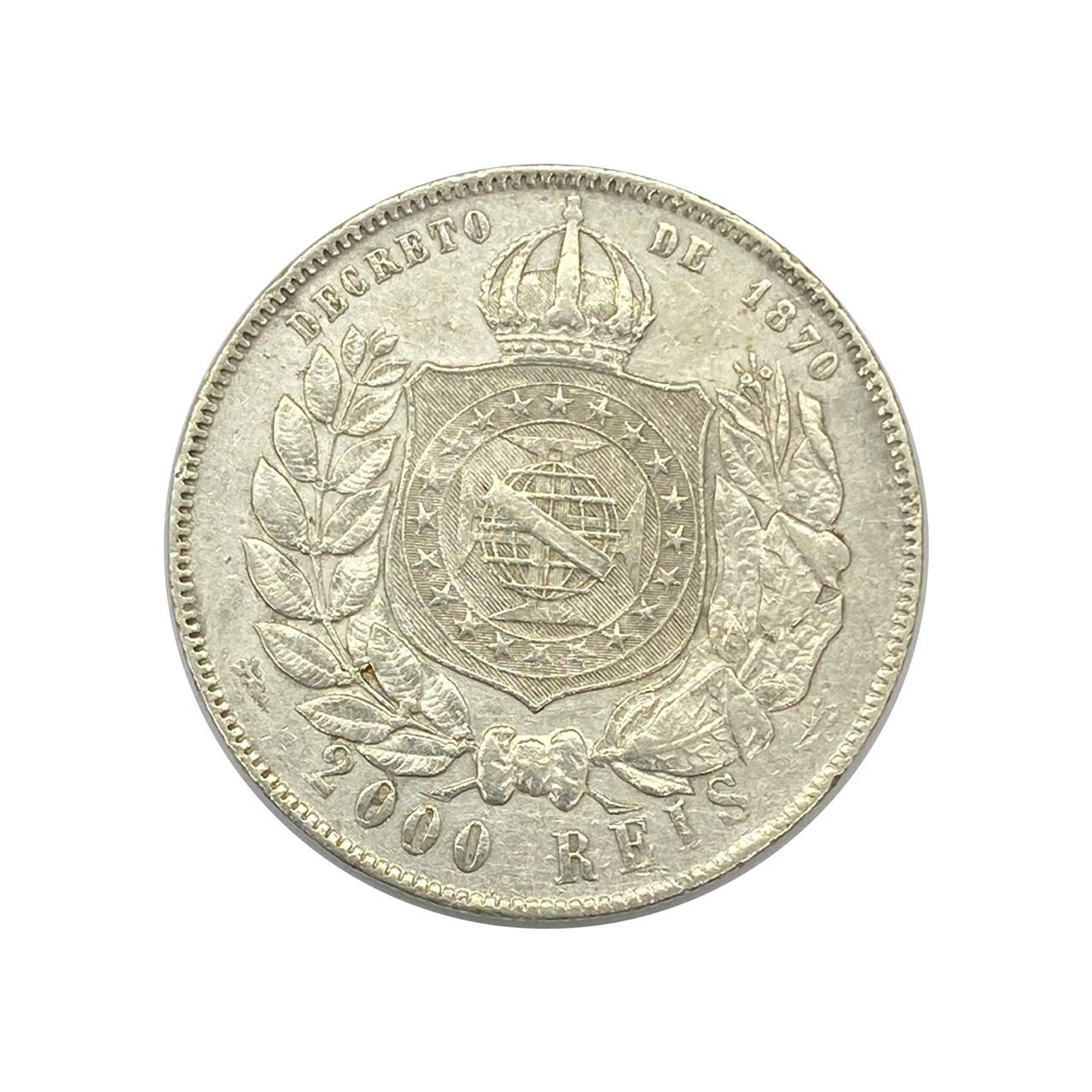 2000 Réis 1889 - MBC