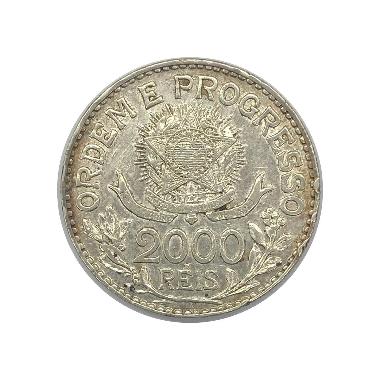 2000 Réis 1913 Estrelas Ligadas - SOB