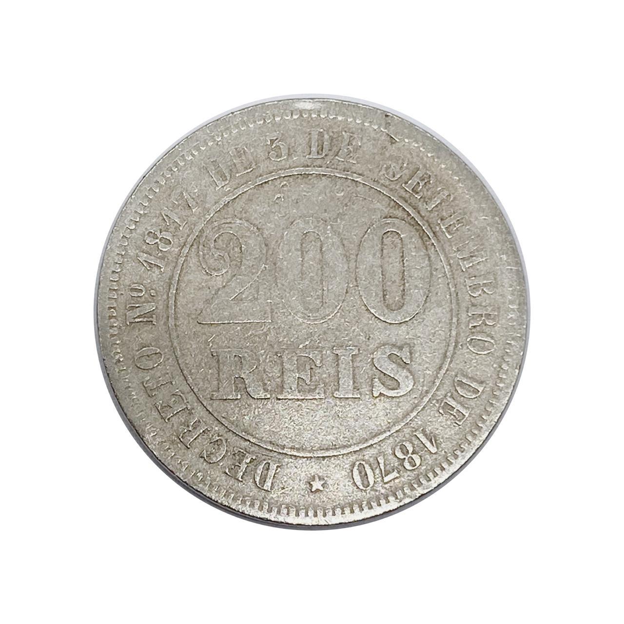 200 Réis 1871 MBC