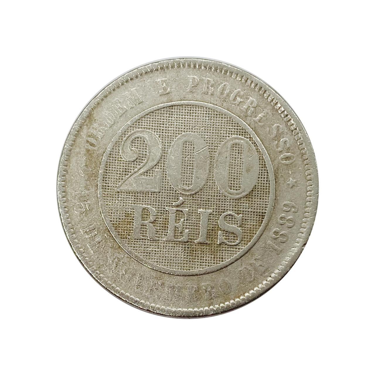 200 Réis 1889 MBC
